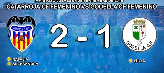 Catarroja C.F – Godella C.F, el femenino gana en casa.